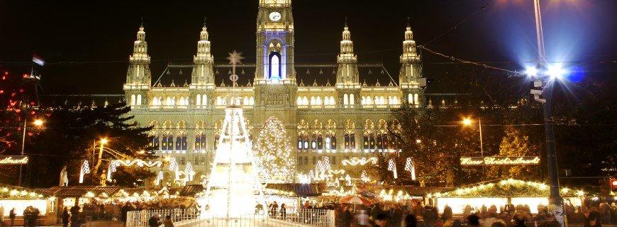 Χριστουγεννιάτικες αγορές Βιέννης