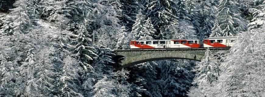 Πανόραμα Ελβετίας οδικώς, Αλπικό τρένο